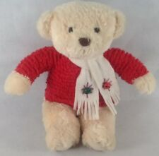 "Hallmark Bear Plush Bells Ring. 24"" Cuteb. K8"