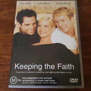 Keeping the Faith DVD R4 Like New! FREE POST