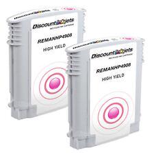 2pk 940XL 940 XL  MAGENTA Ink Cartridge for HP OfficeJet 8500