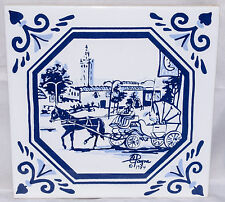 Country Club Plaza Giralda Tower Carolyn Payne Creations Art Tile Trivet 1984