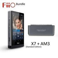FiiO X7 Standard Edition Lossless (FLAC/MP3) DAP/DAC+AM3 Balanced Module BUNDLE