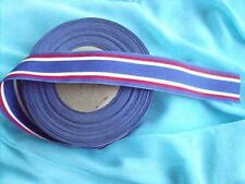 "SONS OF UNION VETERANS OF CIVIL WAR MEDAL RIBBON FOR $1.49 PER 4""RED WHITE BLUE"