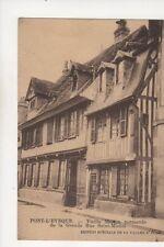 Pont l'Eveque Vieille Maison Normande Grande Rue Saint Michel Postcard 348b