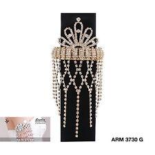 Gold Arrow Armlet Bracelet Upper Arm Cuff Armband Bangle Jewelry NEW ARM3730G