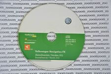 VW RNS 310 navigation CD FX V1 2009 Norway Skandinavien SEAT SKODA Finland North