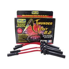 Taylor Spark Plug Wire Set 82227; ThunderVolt 8.2mm Red OE Coil Pack for Dodge