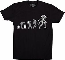 Alien Movies Evolution of the Alien From Egg to Adult T-Shirt Size 2X NEW UNWORN