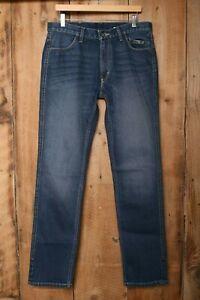 HARLEY DAVIDSON FXRG Armalith Stretch Denim Jeans Sz. 32x34 (Measure 34x34)