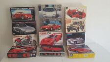 Modellini statici di auto, furgoni e camion Tamiya scatola chiusa in plastica