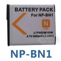 NP-BN1 3.7v Replacement For Sony CyberShot W350 W570 W520 WX5 DSC-QX10 DSC-T110