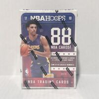 2017/18 Panini NBA Hoops 11 Packs 88 Cards Total Factory Sealed Box Brand New
