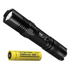 Nitecore P10GT 900 Lumen Strobe Ready LED Flashlight & High Capacity Battery