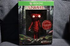 UNRAVEL YARNY DOLL + XBOX BOX (LIMITED) NO GAME (OFFICIAL EA) OOP FIGURE