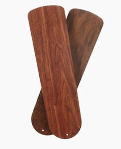 """Harbor Breeze Universal Replacement 5 Ceiling Fan Blade SET WOOD Fits Most 52"""""""