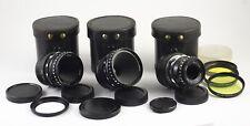 KRASNOGORSK 1 LENSES ADAPTED MICRO 4/3 MFT MIR 11 VEGA 7 VEGA 9 12.5mm 20mm 50mm