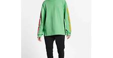 Nike Sportswear Long Sleeve Shirt Green/Red/Yellow Men's Size XXL CJ0151-337