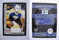 2015 SCA Markus Mattsson Los Angeles Kings goalie never issued produced #d/10