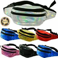 Unisex Shinning Fashion Fanny Pack Waist Hip Belt Bag Travel Purse Pouch LOT