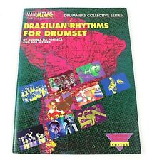 Brazilian Rhythms For Drumset Drummers Collective Series Manhattan Music 1991