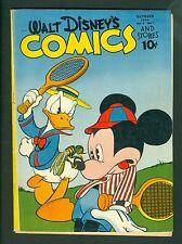 Walt Disney Comics & Stories #49-Golden Age 1944; Donald Duck Vintage; Dell