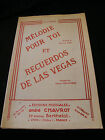 Partitur Melodie Für Toi Et Recuerdos De Las Vegas Birr Montaiguas Music -blatt