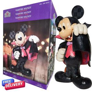 Disney 17 Inch (43.2cm) Halloween Vampire Mickey Greeter Decoration Micky