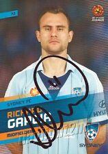 ✺Signed✺ 2013 2014 SYDNEY FC A-League Card RICHARD GARCIA