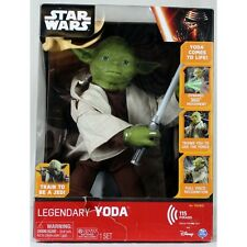 Disney Star Wars Legendary Jedi Master Yoda Interactive 16 inch Figure