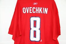 Reebok OVECHKIN T-Shirt Size XXL Red NWT New Capitals