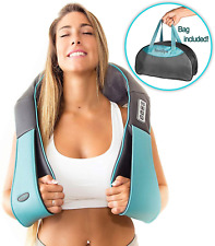 Shiatsu Back Neck and Shoulder Massager with Heat - Deep Tissue 3D Kneading for