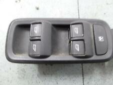 2010 FORD FIESTA POWER DOOR WINDOW SWITCH RH FRONT (MASTER SWITCH), 5DR