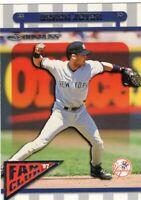 1997 DONRUSS  BASEBALL CARD # 165 - HOF DEREK JETER -  NEW YORK YANKEES