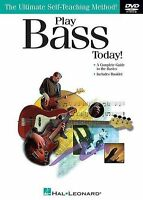 Learn How To Play Beginner Bass Guitar DVD + Tuition Book Tutor Kids Easy NEW