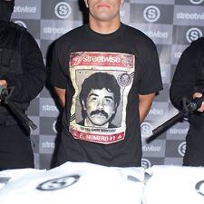 STREETWISE NUMERO UNO 1 T-shirt Rafael Caro Quintero Mexican Drug Lord Tee