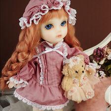 Dollmore BJD Clothes Mokashura Size - Mama Drowsy Dress Set (I.Pink)