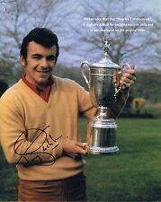 "TONY JACKLIN  British Open Golf Champion   HAND SIGNED 10"" x 8"" Colour Photo"