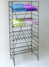 """4 Shelf Wire Rack Convenience Store Market Snack Chips Display Fixture 55""""H New"""