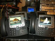Cisco IP Phone CP-7971G-GE  (NO POWER SUPPLY'S)  LOT OF 2