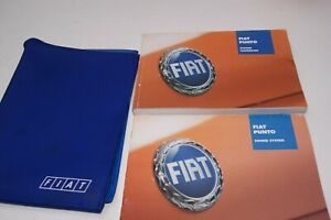Fiat Punto 3rd gen (Grande)  owners manual / handbook / wallet 2005 - 2009