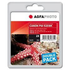 APCPGI520BDUOD-PGI-520BK CARTUCCE RIGENERATE AGFAPHOTO PER CANON PIXMA MP560