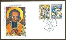 Vatican City Sc# 1441-2, Death of St. John Vianney, First Day Cover