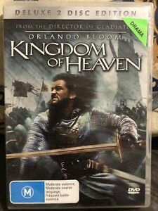 The Kingdom Of Heaven DVD Deluxe 2 Disc Edition, Ex Rental