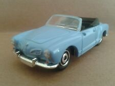 Matchbox Volkswagen karmann ghia convertible in light blue