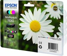 EPSON GENUINE DAISY 18XL T1816 MULTIPACK 4 INKS BK/C/Y/M INKS XP 102 205 305 NEW