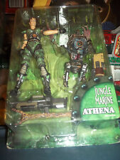 Athena Jungle Marine Quake II Action Figure ReSaurus Strogg Parasite MIP