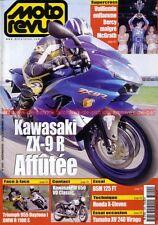 MOTO REVUE 3400 KAWASAKI ZX-9 R Ninja TRIUMPH 955 Daytona BMW R1100 HONDA X11
