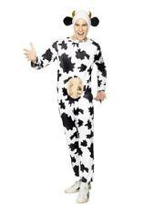adulte vache costume déguisement avec pis Moo VACHE tenue par SMIFFYS