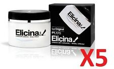 Set of 5pcs ELICINA PLUS SNAIL CREAM CREMA DE CARACOL 40G #soal