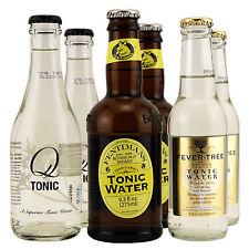 Premium Tonic Water Sample Pack - 2 Each of Q-Tonic, Fentimans, & Fever-Tree