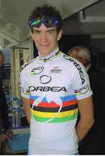 Carte postale Coups de Pédales Romain Sicard champion du monde espoirs 2009